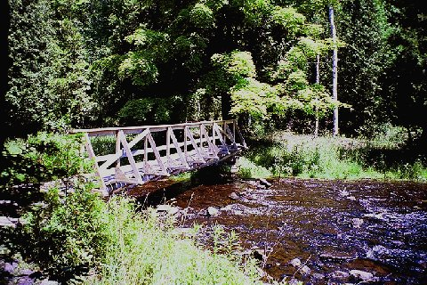 The 1st foot bridge